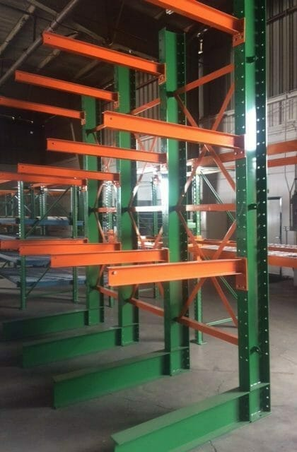 Standard Powder Coated Green and Orange
