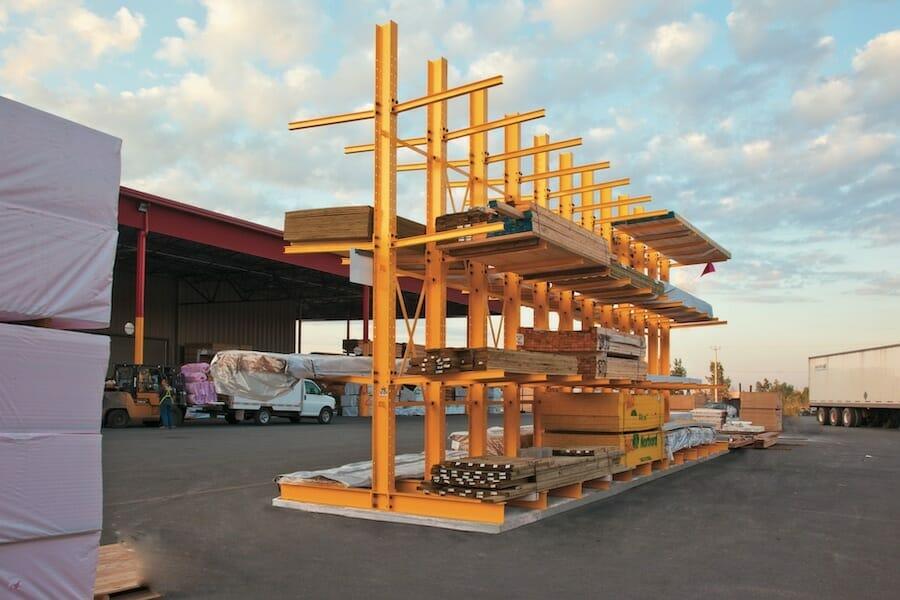 Lumber Cantilever Rack